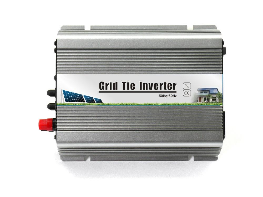 600W 22V-60V DC to 120V/230V AC pure sine wave grid tie solar inverter(China (Mainland))