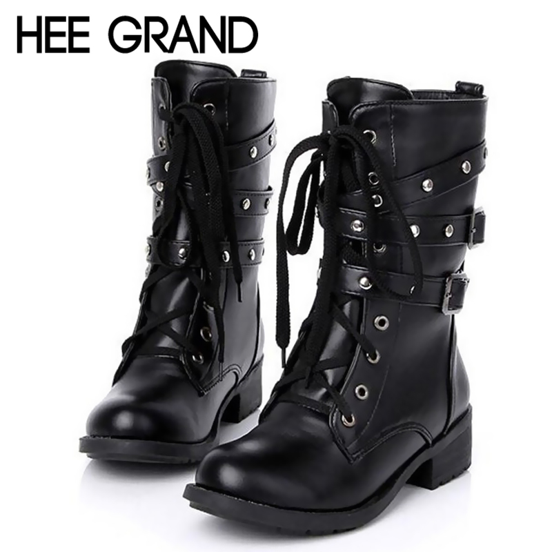 Cute army boots for women