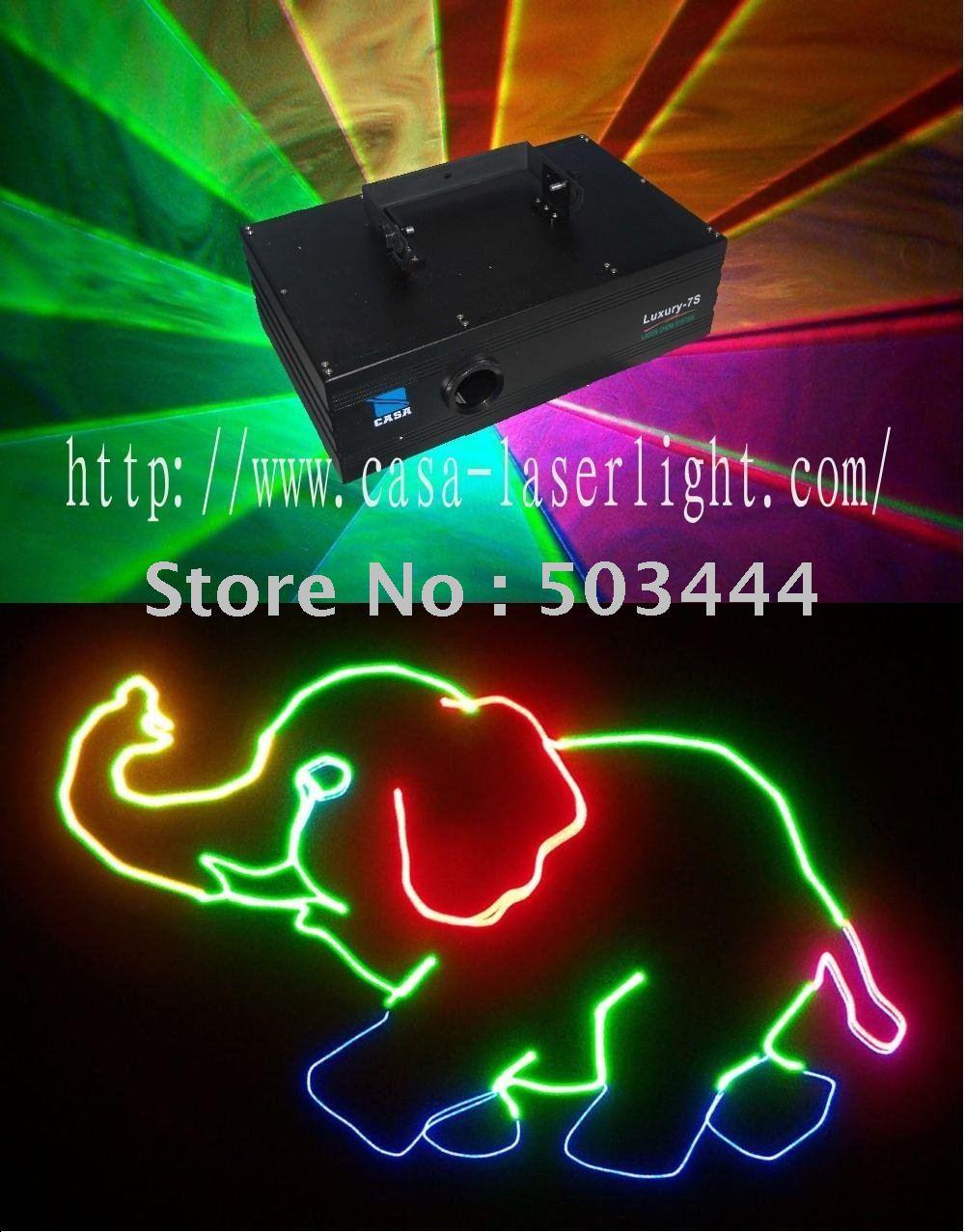 laser Full color Animation Laser Light Show System stage lighting(China (Mainland))