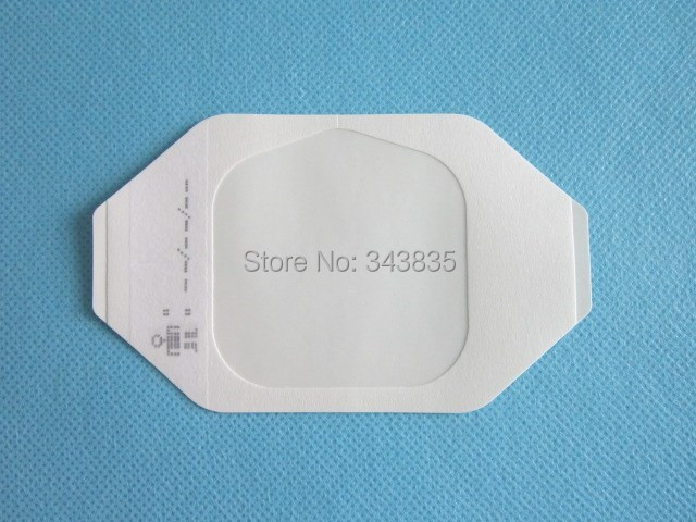 6cm*7cm 20pcs Free Shipping with Absorbing Pad High MVTR Waterproof Germproof Breathable Transparent Wound Film Dressings(China (Mainland))