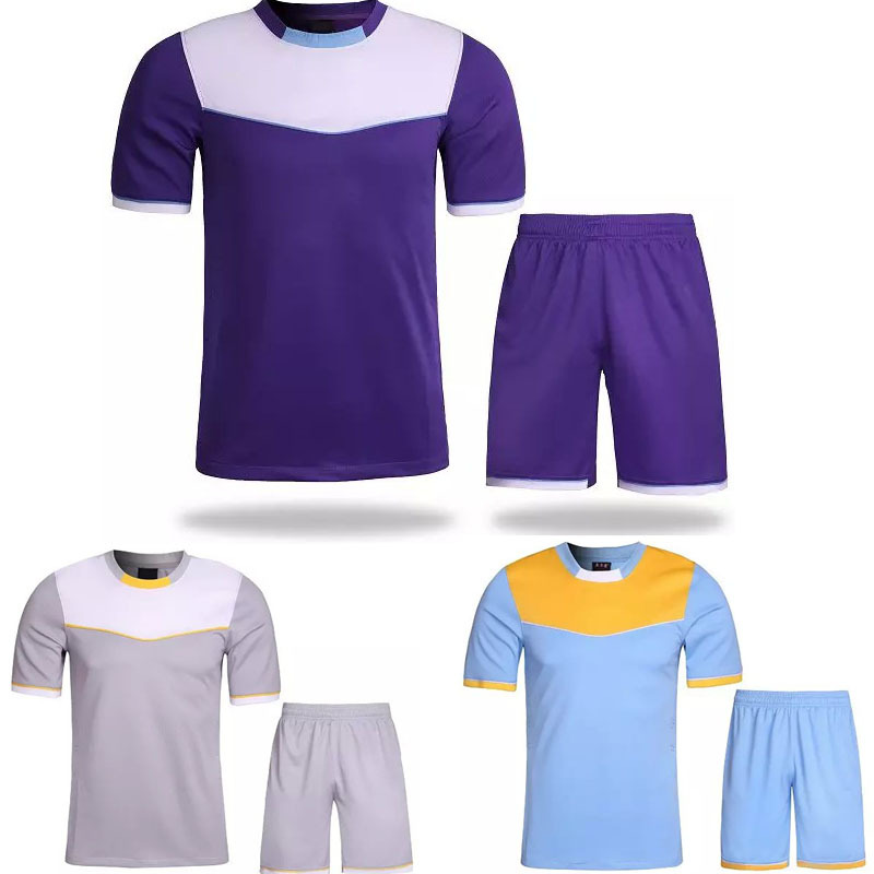 2015 New MEN 3 colours S short sleeve soccer Training jersey blank jersey training shirts football suit sets can Customized(China (Mainland))