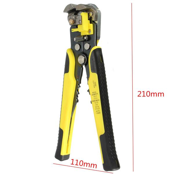Professional Automatic Wire Striper Cutter Stripper Crimper Pliers Terminal Tool