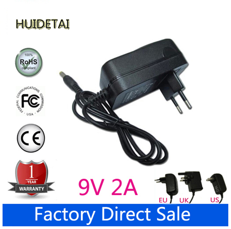 9V 2A Universal AC DC Power Supply Adapter Wall Charger Replace For Sony DVP-FX720 DVP-FX770 Portable DVD Player(China (Mainland))