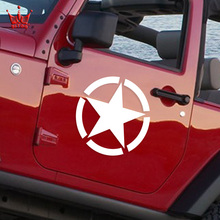 The US Army Star Sticker Car Styling Whole Body Decal for JEEP Toyota Ford Chevrolet Volkswagen