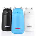 Cartoon Cat Thermo Mug Drinkware Kids Water Bottle Stainless Steel Child Vacuum Flask cup Tumbler leak