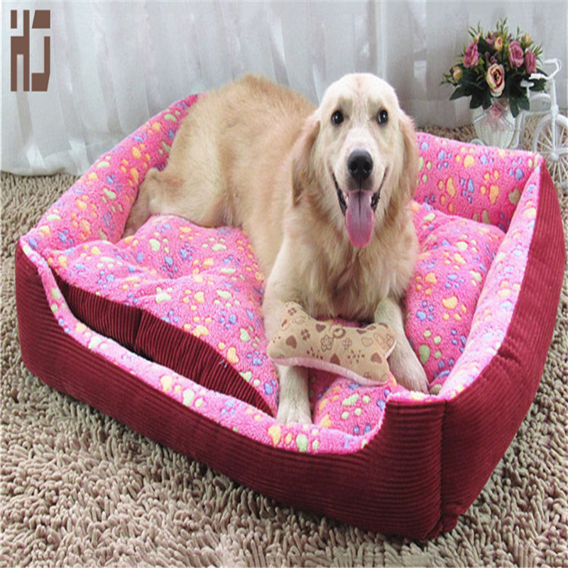 Lovely dot pet dog bed nest Rose Velvet mat warmer soft pet dog house for cat cozy puppy removable washable kennel b108(China (Mainland))