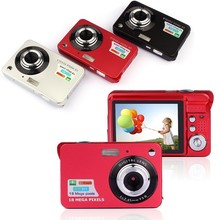 "Newest 18Mp Max 1280x720P HD Video Super Gift Digital Camera with 3Mp Sensor 2.7"" LCD Display 8X Digital Zoom and Li-battery(China (Mainland))"