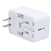 Buy Universal World Charger Adapter Plug one Travel AC Power Adapter Converter US/UK/AU/EU Plug Socket Free Electrical for $3.56 in AliExpress store