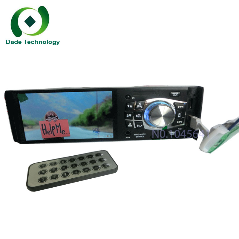 1 din 4-inch True HD 1080P support inverted Car MP5 machine card MP3 player instead of CD player DVD player support car radio(China (Mainland))
