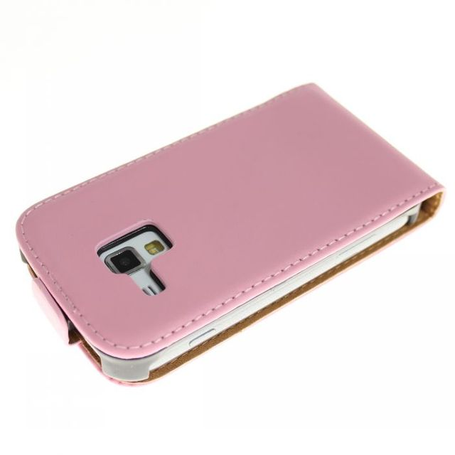 Genuine Leather Case Cover for Samsung Galaxy S7562 Cell Phone Accessories