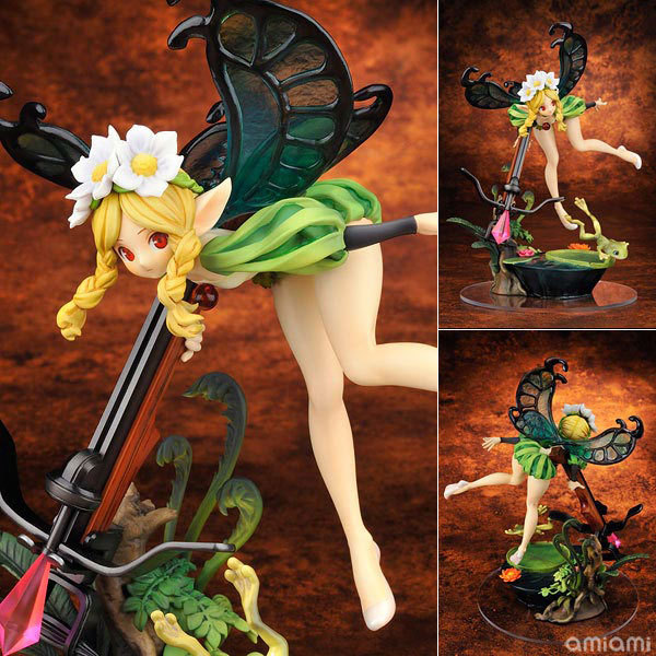 Hot 1pcs 23cm pvc Japanese sexy anime figure Odin Sphere FAIRY LAND fairy princess action figure collectible model toys(China (Mainland))