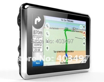 4.3 inch GPS Car Navigation with FM build in 4G load Navitel map 9.1 or full Europe map