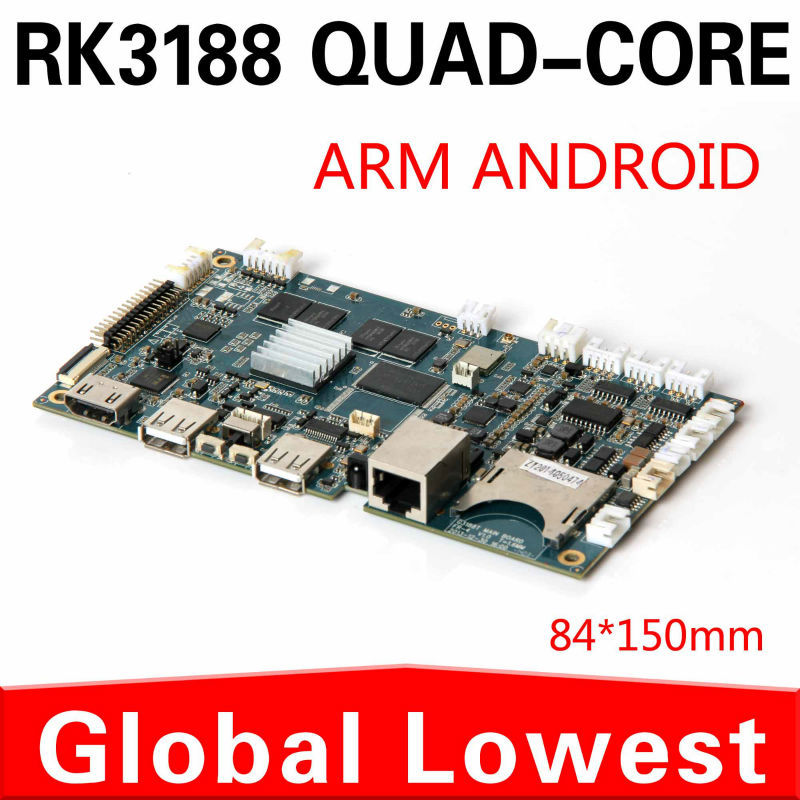 Manufacturers direct supply XCY rockchip RK3188 quad core computer advertising machine dedicated Android motherboard(China (Mainland))