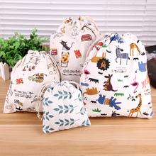 Cute Cartoon Fiber shopping Bag Hanging Organizer Closet Organizer Home Organization Foldable Shopping Bag Women Bag(China (Mainland))
