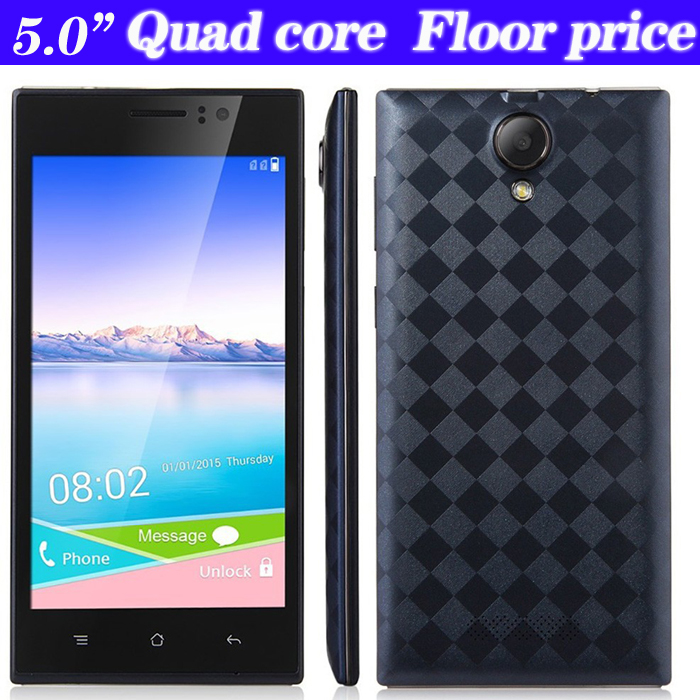 2015 Original Quad Core 5 Inch Android 4.4 Unlock 2G/GSM 3G/WCDMA GPS Dual SIM Mobile Cell phone 5.0MP Cheap Smartphone PDA(China (Mainland))