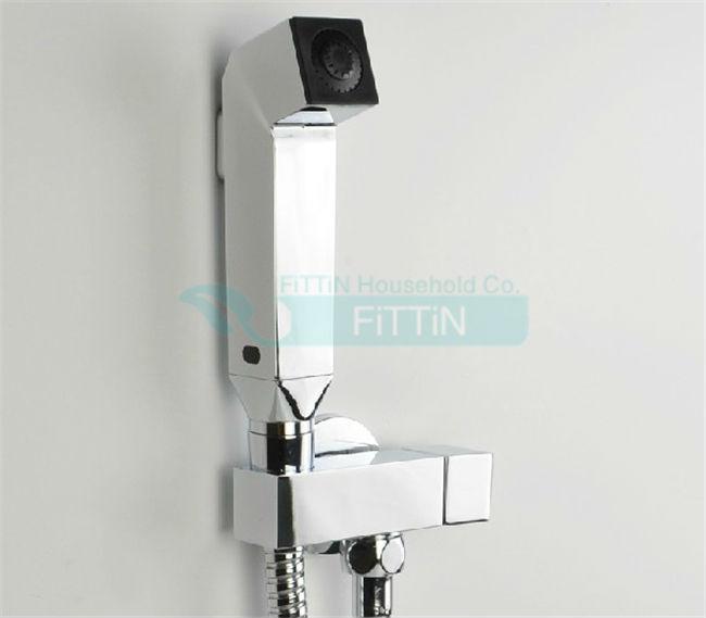 Bathrooms Multiple Brass Toilet Bidet water Diaper Sprayer Shattaf Shower Jet,Valve + Hose+Sprayer(China (Mainland))