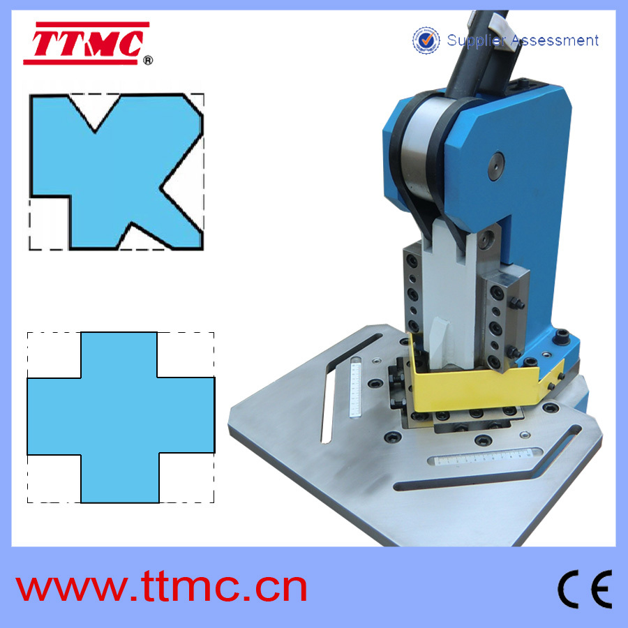 Right Angle Cutter : Hn hand operated notcher right angle shear cutting