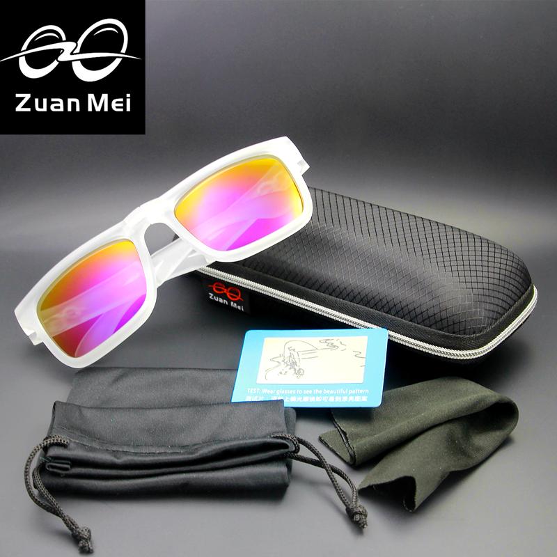 Zuan Mei Brand Polarized Sunglasses Women Sports Sun Glasses Men Folding Glasses Can Replace The Glasses Legs Lunette De Soleil(China (Mainland))