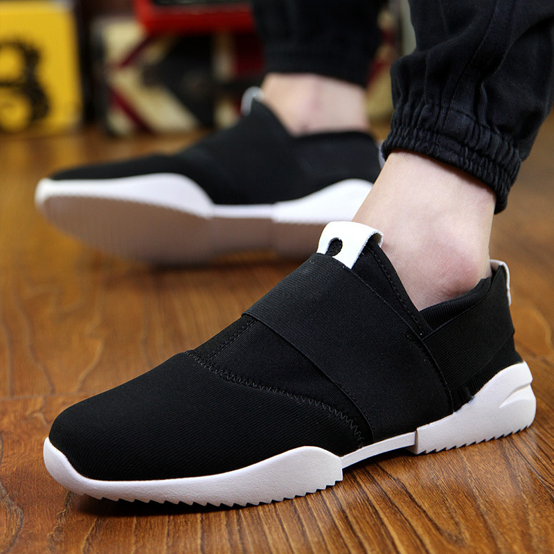 New 2016 Spring Summer Men Casual Shoes Breathable Cozy Flat Canvas Shoes Outdoor Fashion Mens Shoes Casual Sport Size 39-44