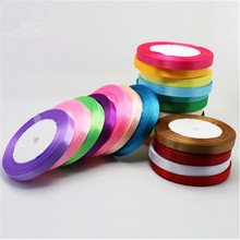 1PCS / lot 25 yards of silk ribbon 15 mm 22 meters wedding party decorative gift wrap Christmas supplies 18 kinds of colors
