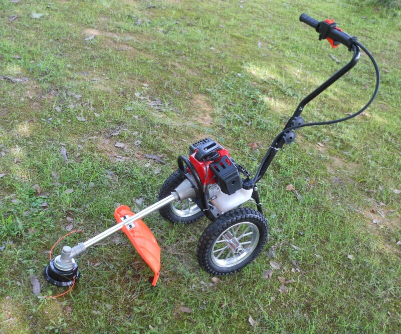 Small two-stroke hand-push mower grass trimmer latest lawn mower gasoline(China (Mainland))