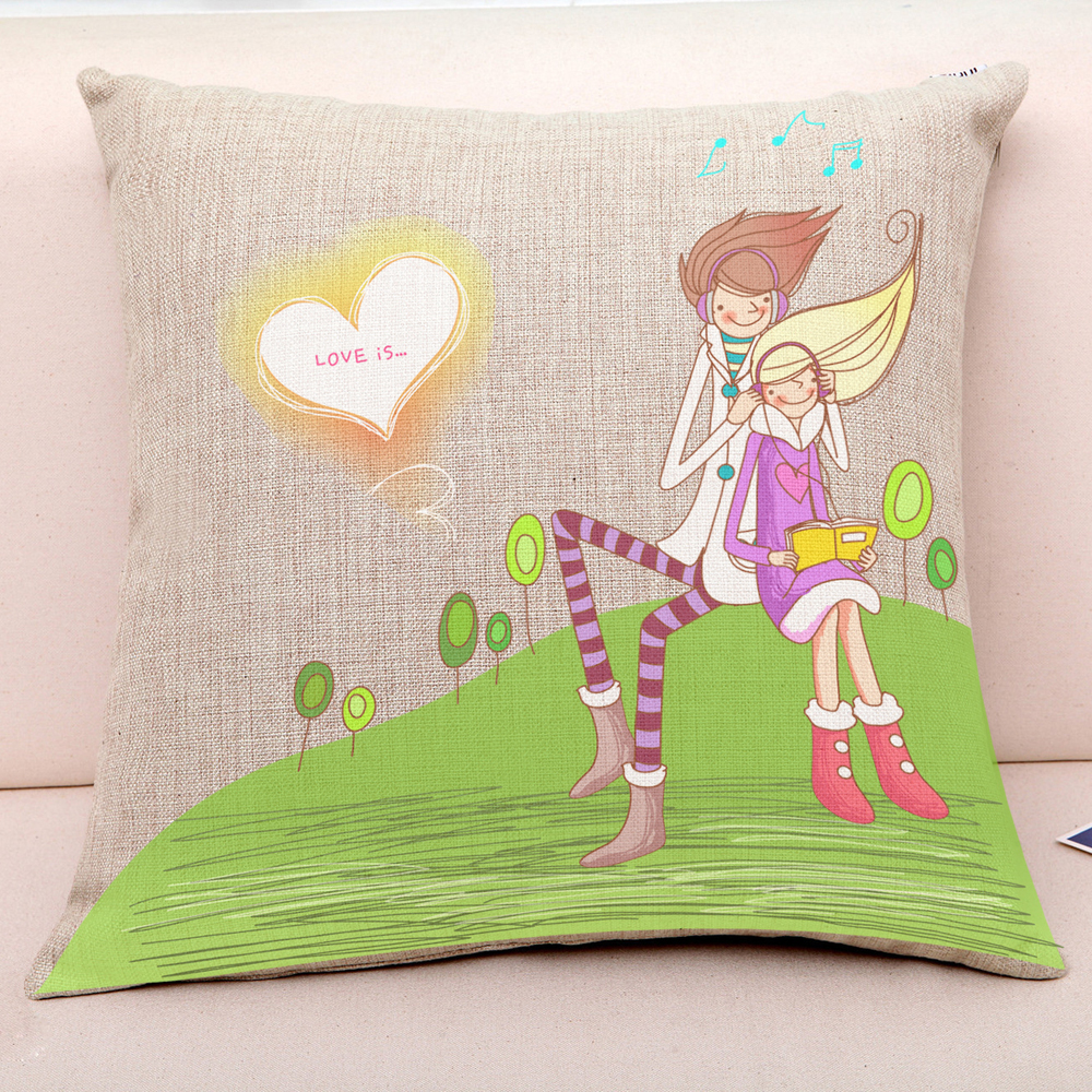 New 2016 modern Beautiful LOVE series of pillow covers cushion covers Home decorations Throw Pillows Case