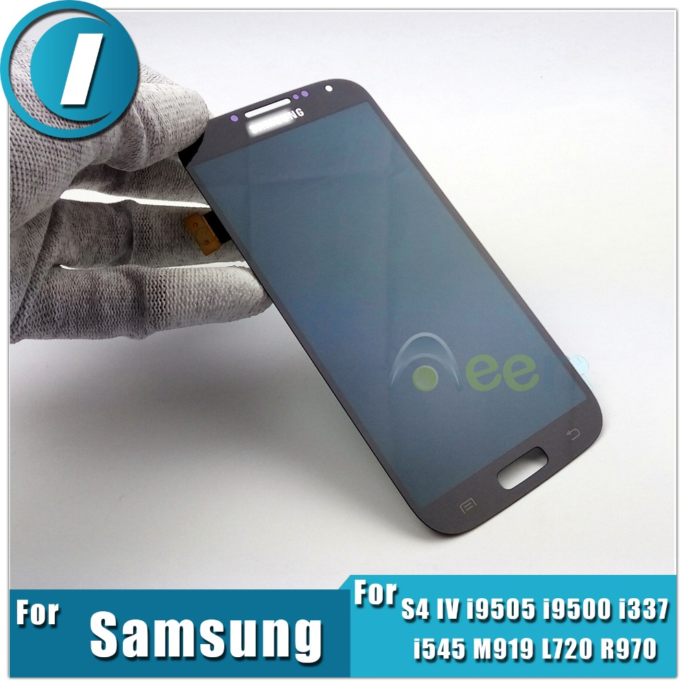 Фотография Newest LCD Display +Touch Screen Digitizer Assembly Repair Parts For Samsung Galaxy S4 IV i9505 i9500 i337 i545 M919 L720 R970