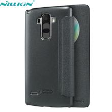 Чехол книжка NILLKIN для LG G4 Stylus пластик + кожа