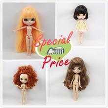 Nude Blyth doll Suitable For Dress up by yourself DIY Change BJD Toy For Girls Factory Blyth special price(China (Mainland))