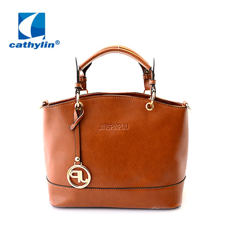 2015 new fashion Women leather Handbags waterproof folding dumplings tote womens messenger bags single shoulder bag <br><br>Aliexpress
