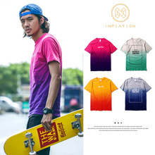 Summer New Hurleys 2015Tshirt men Logo Print t shirt men cotton Male Letters short sleeve t-Shirt tshir
