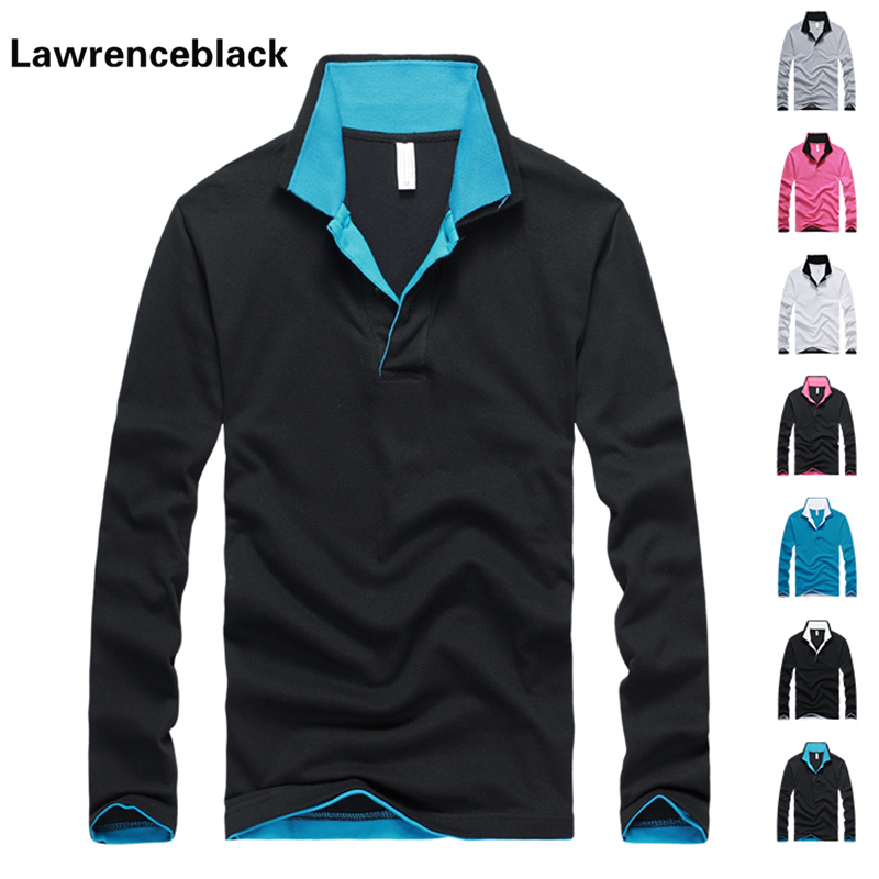 men solid polo shirt solid tops breathable tee polo long sleeve men brand high quality camisa polos masculine homme marque T1039(China (Mainland))
