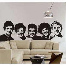 Buy New 2016 DIY Wall Sticker Mural Home Art Decor One Direction wall Sticker 1D Poster Living Room Decals Wallpaper Decoration for $5.96 in AliExpress store