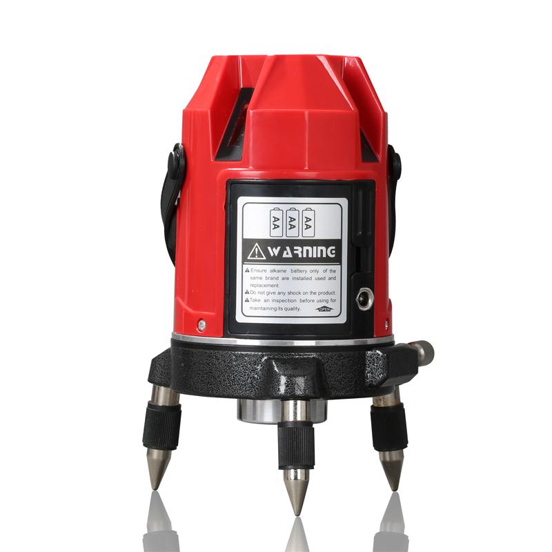 Free shipping Boics 5 line 4V1H 6 points laser line cross line laser rotary laser level