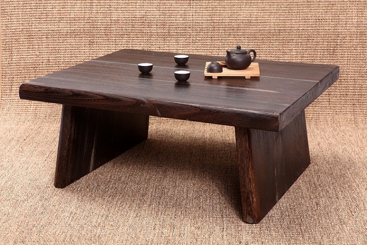 Acheter japonais antique table rectangle for Meuble antique japonais