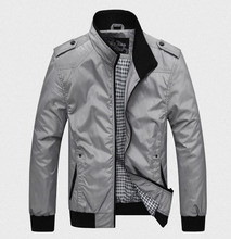 Free Shipping Hot Selling 2015 New Fashion Men Jacket Men's Outerwear Casual Clothing For Men Jackets Big Size 4XL Sportswear(China (Mainland))