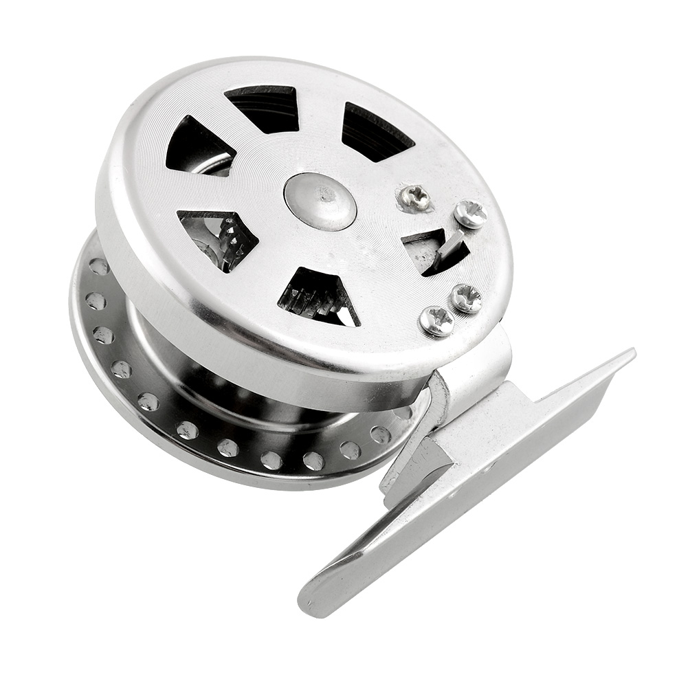 Firm Aluminum High Quality Sea Ice Fly Flies Fishing Line Wheel Skillful Fish Reel Durable Free