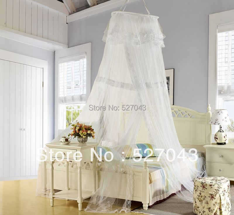 silk canopy bed curtains 2