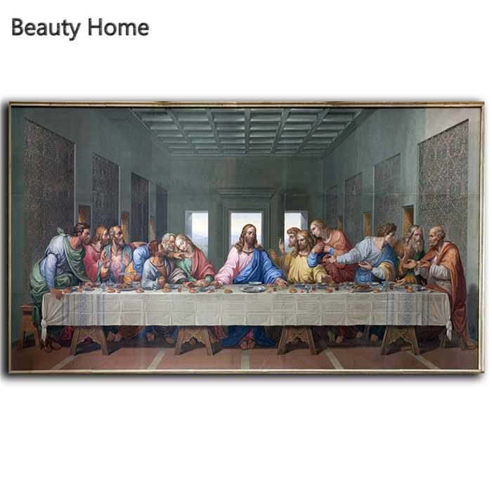 leonardo da vinci wall paintings the last supper huge giclee canvas prints paintings on the wall