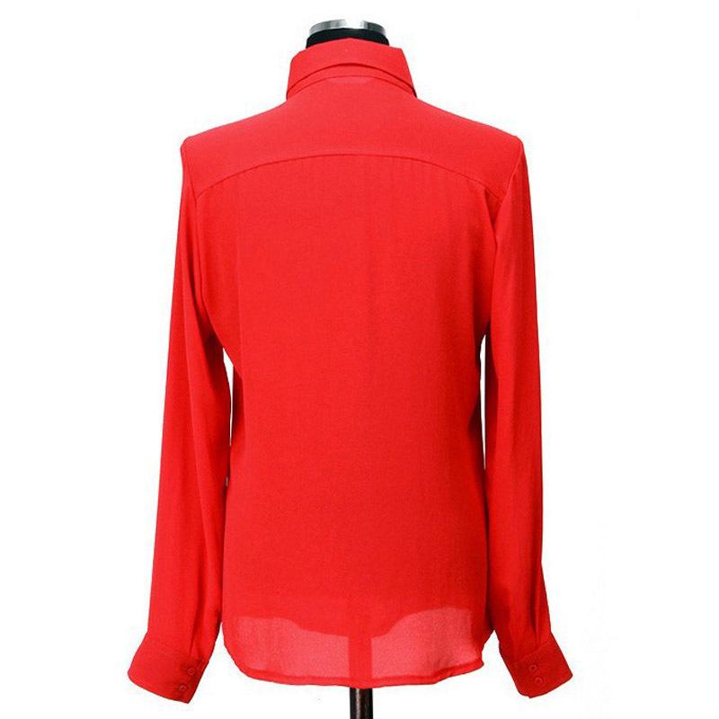 Blusas Femininas 2015 женщин рубашка топы элегантные дамы официально офис блузка 5 цветов рабочая одежда Большой размер XXL кнопка твердые