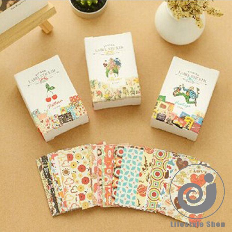 Гаджет  156 pcs/lot cute pattern paper sticker sticky decoration decal DIY album diary scrapbooking toys for kids gift None Офисные и Школьные принадлежности