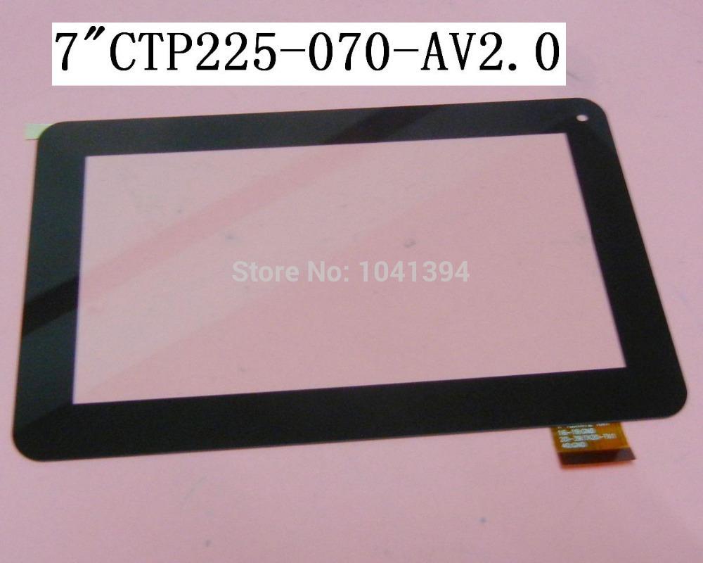 10pcs/lot 100% original new 7'' inch tablet touch screen capacitor screen handwritten screen touch screen CTP225-070AV