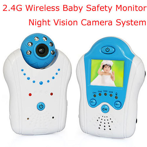 Electronica 1.5 inch Baby Monitor Babysitter Color Video Wireless Baby Monitor IR Video Camera Night Vision Temperate Monitoring