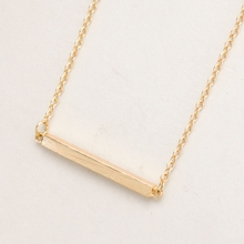 Buy 2016 New Fashion Square Bar Clavicle Necklace Women Simple Fine Diy Pendant Necklaces Long Chain Necklaces Party Gifts for $1.13 in AliExpress store