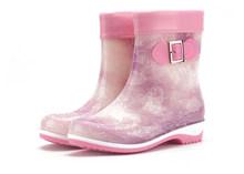 Eilyken kış yaz yağmur çizmeleri kadınlar için Anti-kayma sıcak botlar takozlar platformu ayak bileği yağmur ayakkabı lastik çizmeler boyutu 36- 41(China)