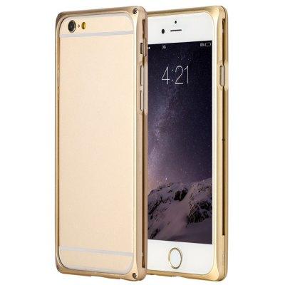 product Golden Rock Ultra-thin Metal Bumpe for iPhone 6 Plus iPhone6 i6 Plus / Aviation Aluminum Alloy Combo Frame Design Bumper