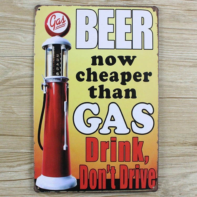 2016 new Metal Tin plate BEER signs vintage house bar coffee decor poster wall art decoration metal painting tin signs 20*30 CM(China (Mainland))