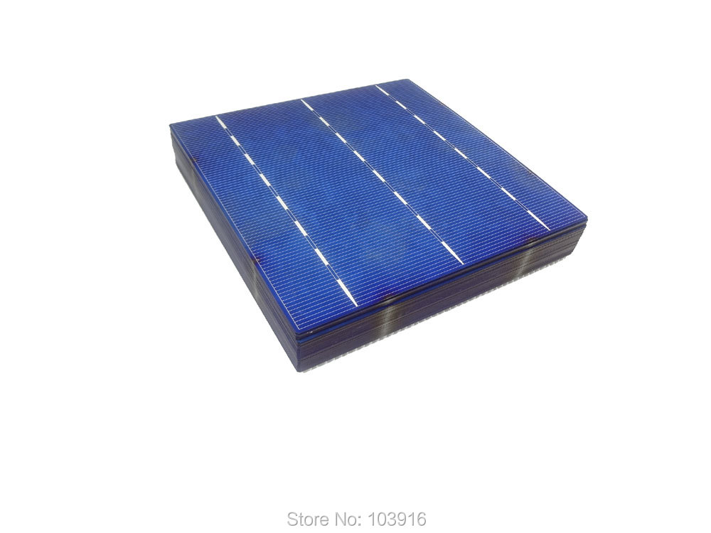 10 pcs 4.14W POLY Solar Cell 6x6 for DIY solar panel, polycrystalline cell(China (Mainland))