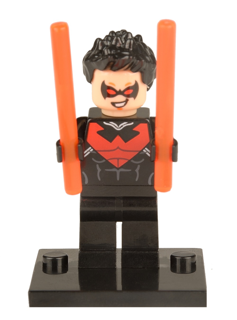 500pcs/lot Single sale 017 Richard John Dick Grayson Robin Minifigure Marvel Super hero Batman Children Gift toys<br>