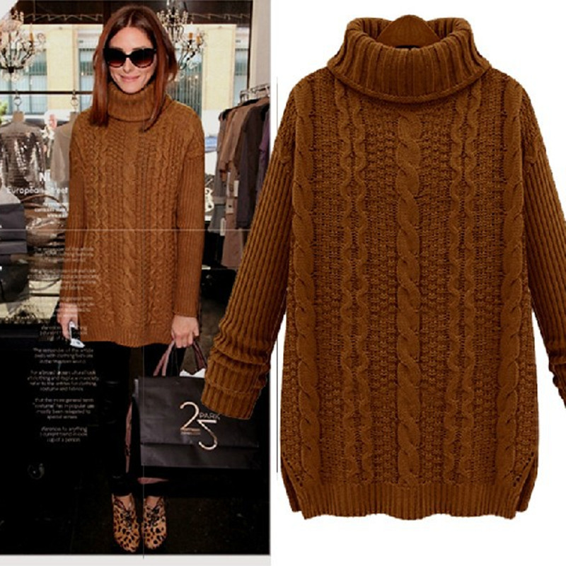 Want Wool Knitted Women Sweaters And Pullovers 2015 Hot Oversized Cashmere Sweater Women Winter Christmas Jumpers